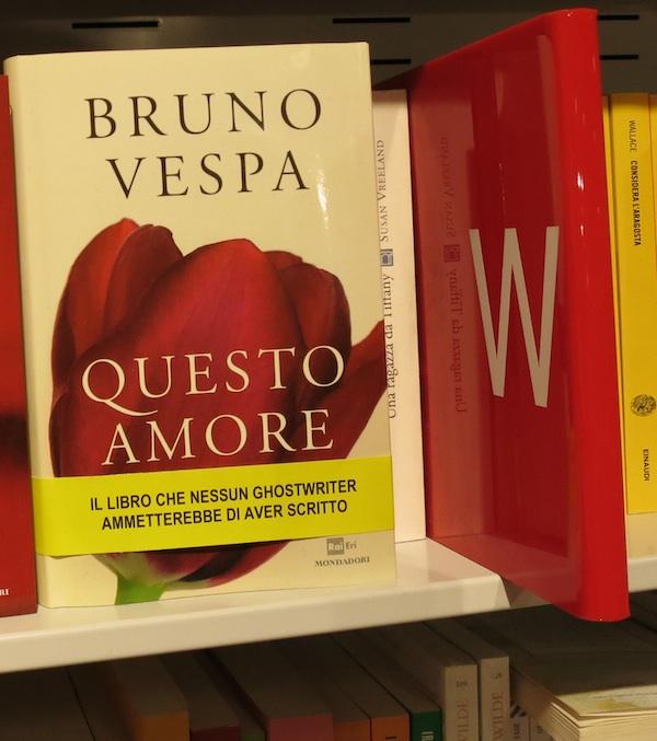 Bruno Vespa Questo Amore fascetta