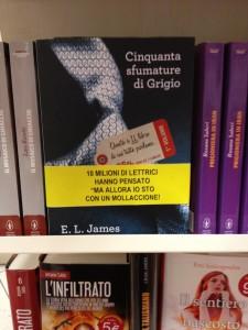 E. L. James, Cinquanta sfumature di grigio