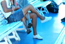 Crossing legs