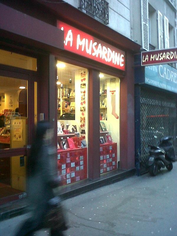 libreria La Musardine, Paris