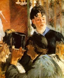 Manet - La Cameriera (olio su tela, 1879)